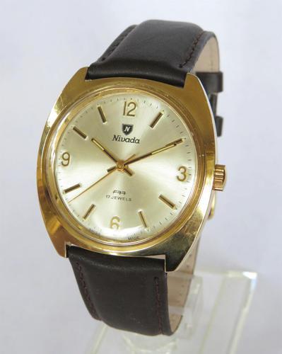 Gents 1970s Nivada F77 Wrist Watch (1 of 5)