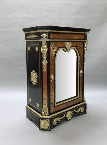 French Napoleon III Boulle Side Cabinet by Mathieu Befort (1 of 15)