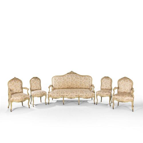 Good Quality Late 19th Century French Salon Suite (1 of 5)