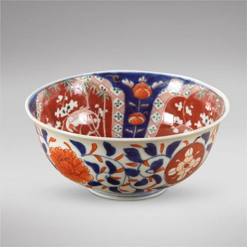 Late 19th Century Japanese Imari Pattern Bowl (1 of 3)