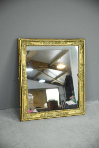 Antique Gilt Wall Mirror (1 of 9)