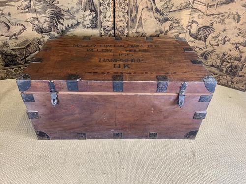 Military Campaign Trunk & Kit (1 of 10)