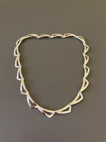 Danish Sterling Silver Necklace by Randers Silver (1 of 5)