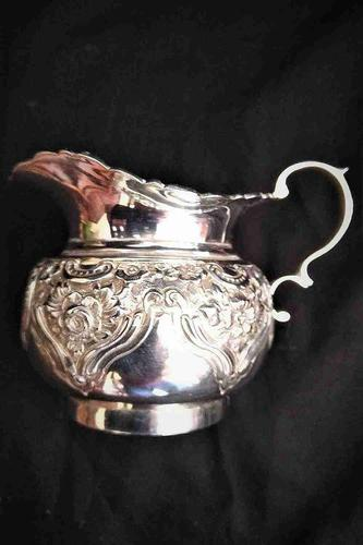 Edwardian Solid Silver Cream Jug (1 of 6)