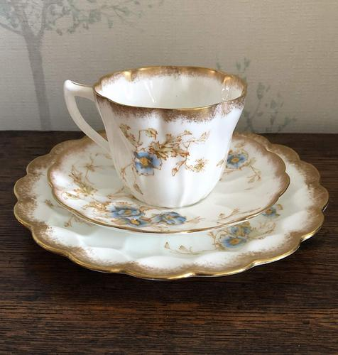 Doulton Burslem Porcelain Trio c.1897 (1 of 5)