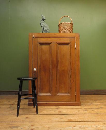 Rustic Victorian Pine Larder or Linen Cupboard, Boathouse Cupboard (1 of 22)