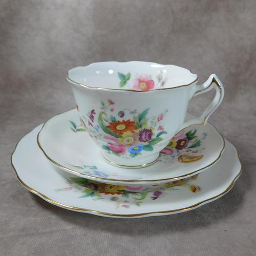 George Jones & Sons, Crescent Ware, June Time Pattern Trio. (1 of 4)