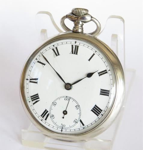 1913 Rands silver Pocket Watch from Rotherham & Sons (1 of 5)