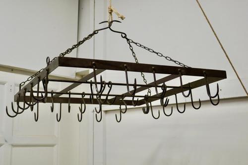 Blacksmith Made Iron Game Hanger, Kitchen Utensil or Pot Hanger (1 of 6)