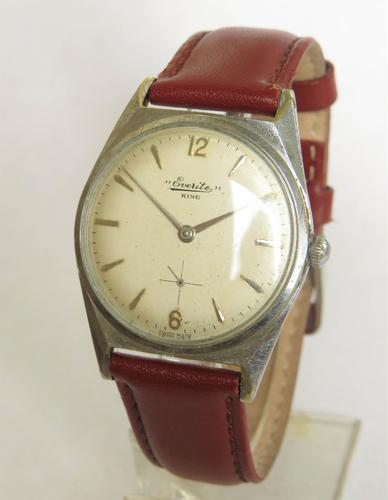 Gents 1960s Everite King Wrist Watch (1 of 5)