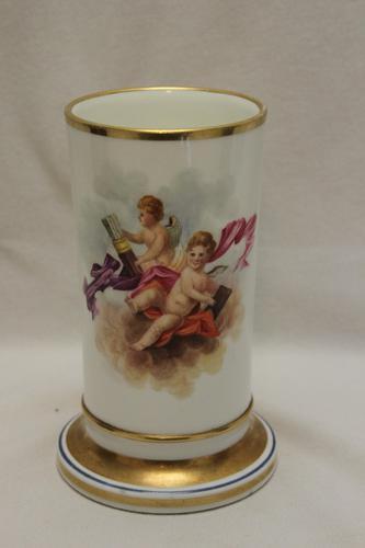 Hand Painted Porcelain Spill Vase - Possibly Rockingham (1 of 5)