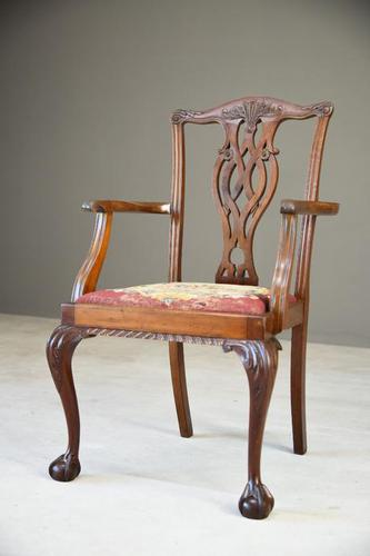 Mahogany Carver Chair (1 of 10)