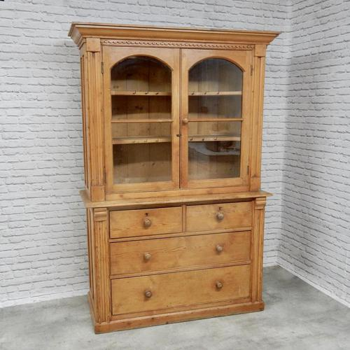19th Century Cornish Pine Dresser (1 of 8)