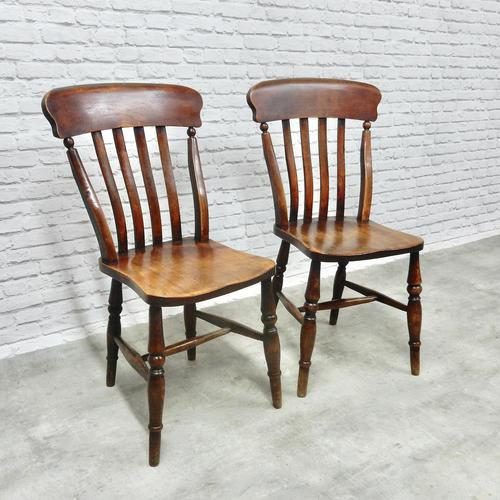 Pair of Windsor Lathback Side Chairs (1 of 5)
