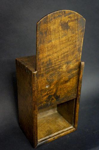 A Georgian Oak Candlebox (1 of 4)