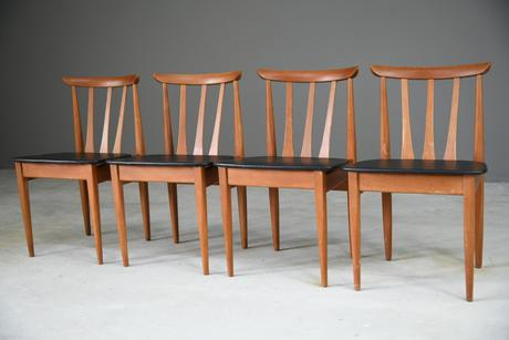 Set of 4 Retro Eon Dining Chairs (1 of 12)
