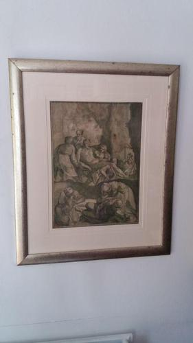 Engraving - The Descent From The Cross (1 of 3)