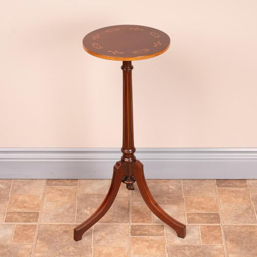 Good Quality Marquetry Mahogany Wine Table (1 of 8)