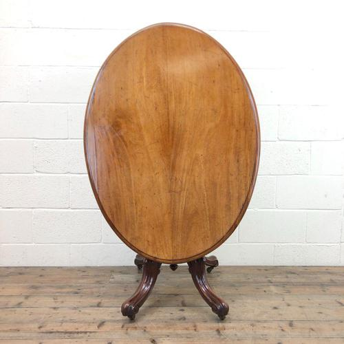Antique Mahogany Centre Table (1 of 11)
