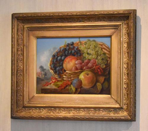 Still life oil painting after Albert Francis King (1 of 8)