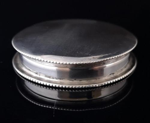 Antique Silver Snuff Box, George III revival (1 of 11)