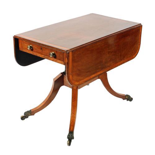 Georgian Rosewood Pembroke Table (1 of 8)
