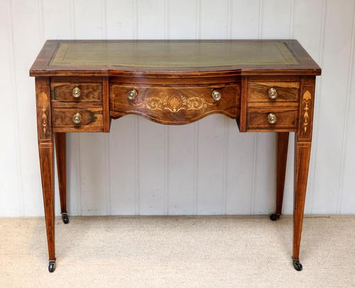 Inlaid Rosewood Writing Desk (1 of 11)