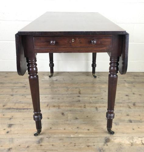 19th Century Mahogany Pembroke Table (1 of 9)