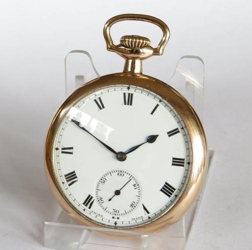 1930s Minerva Pocket Watch (1 of 4)