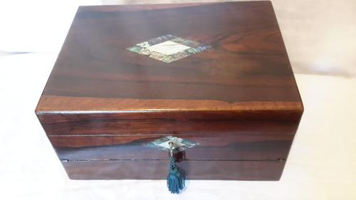 Victorian Ladies Sewing Box & Writing Slope (1 of 16)
