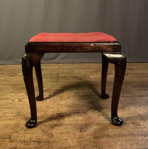 Early 18th Century Fruitwood Stool (1 of 11)