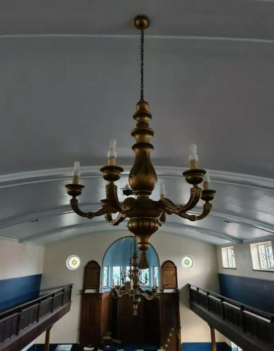 Salvaged Reclaimed Lighting Light Fittings Judaica Synagogue (1 of 6)