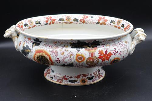 Attractive Early 20th Century Oval Tureen (1 of 6)