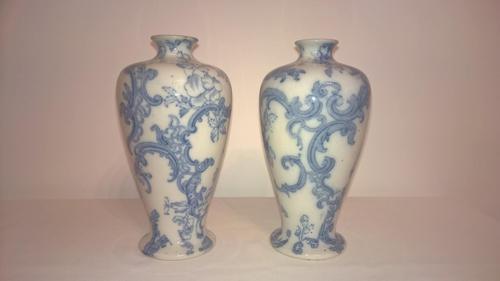 Pair of Blenheim Vases, Staffordshire 1913 (1 of 5)