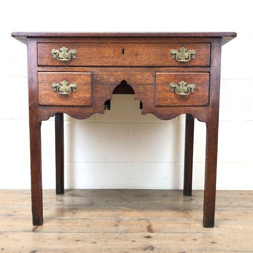19th Century Oak Side Table (1 of 8)