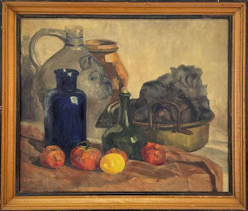 French Oil of Still Life (1 of 4)