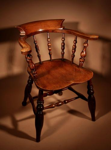 Captains / Smokers Bow-back Armchair (1 of 14)