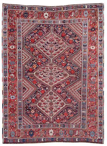 Antique Khamseh Rug (1 of 10)
