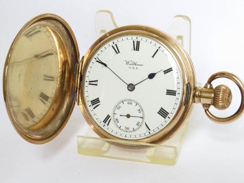 Antique Waltham Full Hunter Pocket Watch (1 of 5)