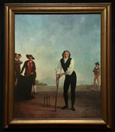 Large Fine Quality Vintage Cricket Cricketing Print - 18thc Georgian Manner (1 of 13)