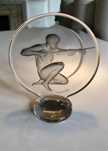 """""""Archer"""" Car Mascot by René Lalique (1 of 4)"""