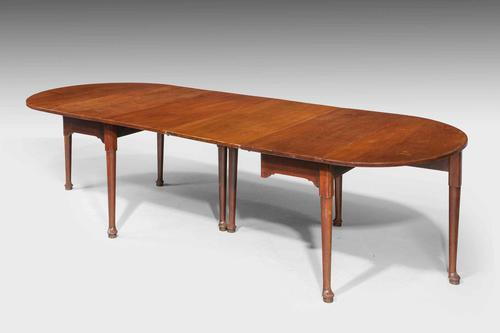 Early George III Mahogany Dining Table (1 of 5)