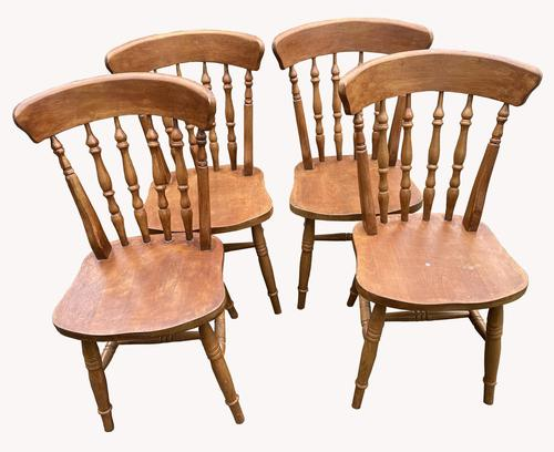 Set of Four Kitchen Chairs (1 of 3)