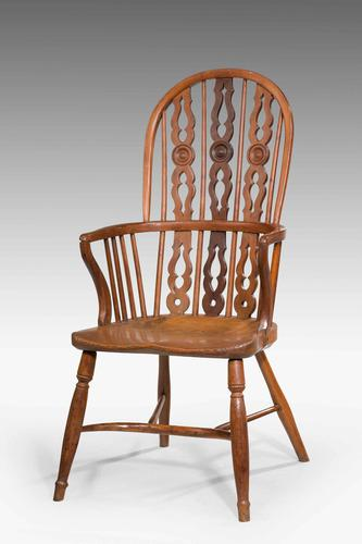 Mid 19th Century Yew Tree Windsor Chair (1 of 6)