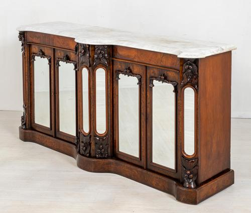 Victorian Walnut Side Cabinet (1 of 10)