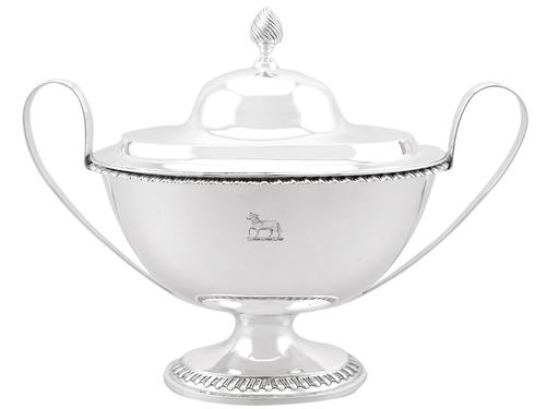 Sterling Silver Tureen - Antique Victorian (1 of 12)
