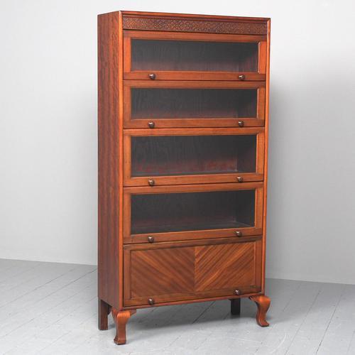 Mahogany 5 Door Sectional Bookcase (1 of 11)