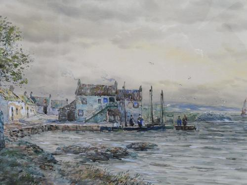 Watercolour Lower Largo Scotland (1 of 10)