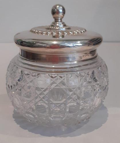 Silver Powder Pot (1 of 7)
