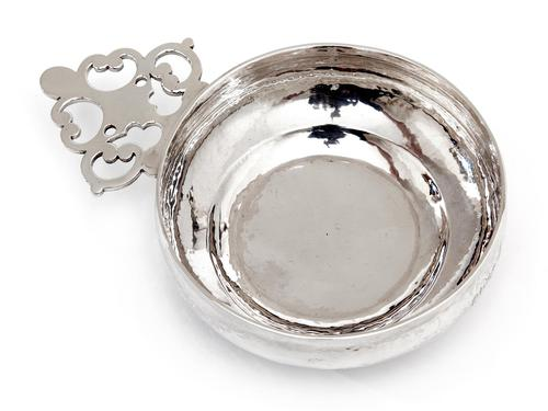 Britannia Standard Silver Bleeding Bowl retailed by Tessier (1 of 4)